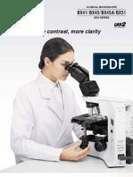 BX41,45,51 Clinical New Catalog