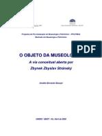 O Objeto da Museologia - Anaildo Baraçal