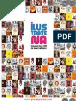 ILUSTRATENA - EXPOSICION 2011 DE ILUSTRADORES - CATALOGO - PARAGUAY - PORTALGUARANI