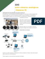 Comparativo  entre câmeras analógicas e Digitais