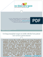 Medsurge Healthcare Consultants - Lung Transplant