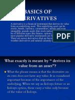 Basics of Derivatives