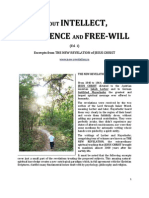 Brochure - NEW REVELATION - ABOUT INTELECT, CONSCIENCE AND FREE-WILL - ed 1