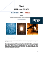 Brochure - NEW REVELATION - ABOUT LIFE AFTER DEATH, HEAVEN AND HELL - ed 1