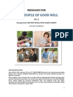 Brochure - NEW REVELATION - MESSAGES FOR the PEOPLE OF GOOD-WILL - ed 1