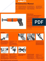 DX 400B Operators Manual