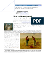 How to Worship God d121201