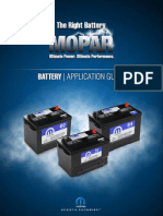 MOPAR BATTERY | APPLICATION GUIDE 2010