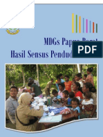 Publikasi - [BPS Papua Barat] Laporan Capaian MDGs Papua Barat 2010 Hasil SP2010