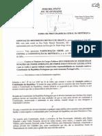movimento revolução branca 2012_participação crime, pelo crime de tatentado contra a constituição da república [21 dezembro]
