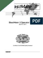 BlastMate II Operator Manual