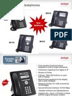 New 96x1 One-X IP Phones
