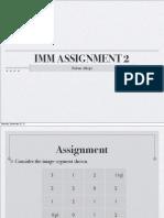 MM Assignment