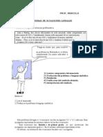 SISTEMAS DE ECUACIONES LINEALES - GUÍA DE APRENDIZAJE