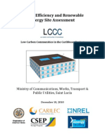 LCCC, Energy Efficiency and Renewable Energy Site. Ministry of Communication, Works, Transport and Public Utilities, St. Lucia, 12-2010