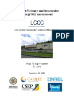 LCCC, Energy Efficiency and Renewable Energy Site Assessment, MEGA J's Supermarket, 12-2010