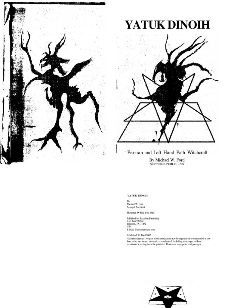 yatuk dinoih- Persian And Left Hand Path Witchcraft