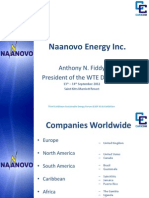Naanovo Energy Inc. - Anthony Fiddy, 9-2012