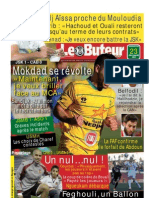 LE BUTEUR PDF du 23/12/2012