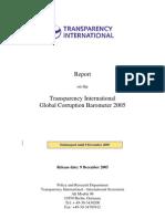 Global Corruption Barometer 2005 (Full Report)[1]