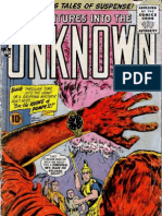 Adventures Into the Unknown-84th Issue Vintage Comic
