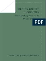 Bergson-Deleuze Encounters