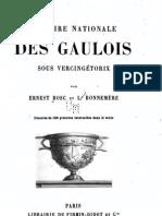 Bosc Ernest - Histoire nationale des Gaulois sous Vercingétorix