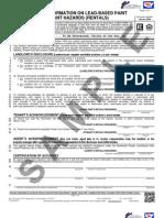 5 Lead-Based Paint Disclosure (Rentals)