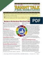 Trinity Tax & Financial Solutions Inc. - Newsletter - Deccember 2011