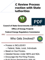 The FERC Review Process for LNG
