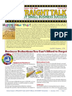 Trinity Tax & Financial Solutions Inc. - Newsletter - January 2012