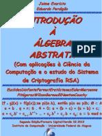 |Introducao a Algebra Abstrata (CCOMP e criptog RSA) [Evaristo&Perdigao][fev2012].pdf