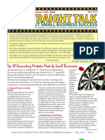 Trinity Tax & Financial Solutions Inc. - Newsletter - May 2012