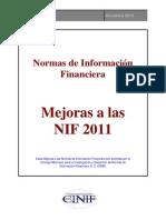 Mejoras Alas NIF 2011