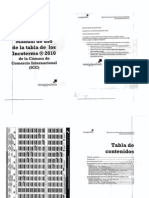Manual Para La Tabla de Incoterms 2010