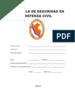 Modelo de Cartilla de Seguridad Nuevo 2011