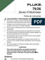 Manual Multímetro - Fluke 26 Series III
