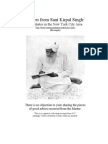 Letters from Sant Kirpal Singh to Initiates in the New York Area