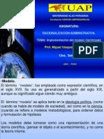 Implementacion Modelo Racionalizac