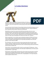 Perlahan Manusia Terkikis Oleh Robot