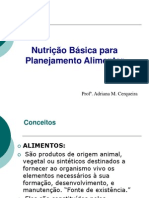 aula nutrição básica