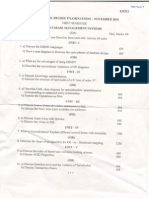 Dbms Model Question Papers