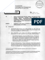 Guidelines on the Grant of Collective Negotiation Agreement Incentive FY 2012