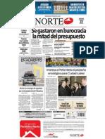 Periodico Norte de Ciudad Juárez 23 de Diciembre de 2012