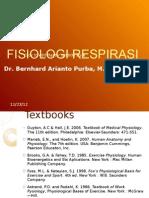 Kuliah Fisiologi Respirasi Part I