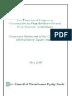 Cmef Governance