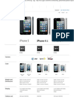 Compare iPhone Models - iPhone Comparison - Specs & Pricing - Apple Store (U.S.)