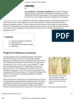 Evolutionary Taxonomy - Wikipedia