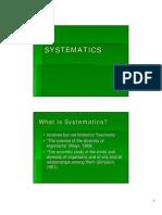 Pal Chap 4 Systematics