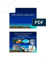 Historical Geology Origins